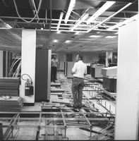 Computer area construction, 1971 (DI02097)