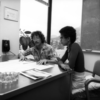 Atlanta Fellowship student with her NCAR mentor, 1973 (DI02107)