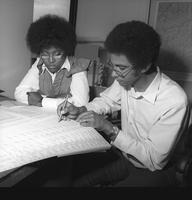 Atlanta Fellowship student with NCAR mentor, 1973 (DI02107)
