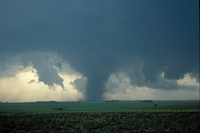 Nebraska tornado, May 24, 2004 (DI02255) Photo by Bob Henson