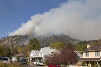 Fire threatens Boulder, Colorado (DI02260)