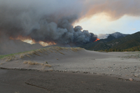 Wildfire in Great Sand Dunes National Park (DI02265) Photo by David Hosansky