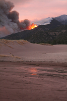 Wildfire in Great Sand Dunes National Park (DI02268) Photo by David Hosansky