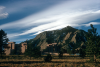 Lenticular clouds over the NCAR Mesa Laboratory (DI00223)