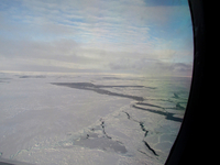 Aerial view of Antarctic sea ice (DI02553) Photo by Andrew Watt