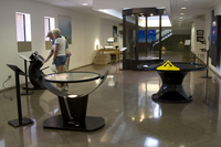 Science exhibits at NCAR's Mesa Lab (DI02587)