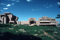 NCAR Mesa Laboratory: west-facing facade (DI00231)