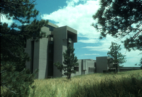 NCAR Mesa Laboratory: west-facing facade (DI00234)