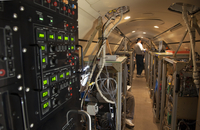 Racks of instrumentation inside the DC-8 NASA aircraft (DI02739), Photograph by Carlye Calvin