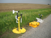 Disdrometer instrument for the Vortex2 field project (DI02767)