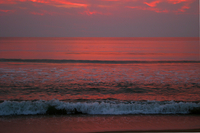 Sunrise in Outer Banks, NC (DI01185) Photo by Carlye Calvin