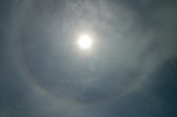 Halo around the sun (DI01448), Photo by Carlye Calvin