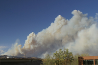 Smoke from wildfire (DI01568)