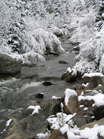 Boulder Creek in winter (DI01627)
