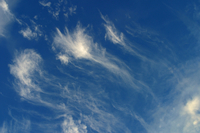 Cirrus clouds (DI01636), Photo by Carlye Calvin
