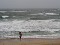 Hurricane Alex reaches the Outer Banks(DI02041) Photo by Carlye Calvin
