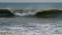 The surf along the Outer Banks (DI02042) Photo by Carlye Calvin