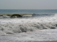 The surf along the Outer Banks (DI02049) Photo by Carlye Calvin