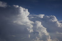 Cumulus Clouds (DI02678), Photograph by Carlye Calvin