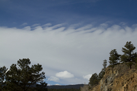 Mountain wave cloud (DI02393)