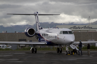 Gulfstream V in Alaska during HIPPO (DI02422)