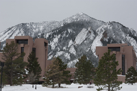 NCAR's Mesa Lab in winter (DI02490)