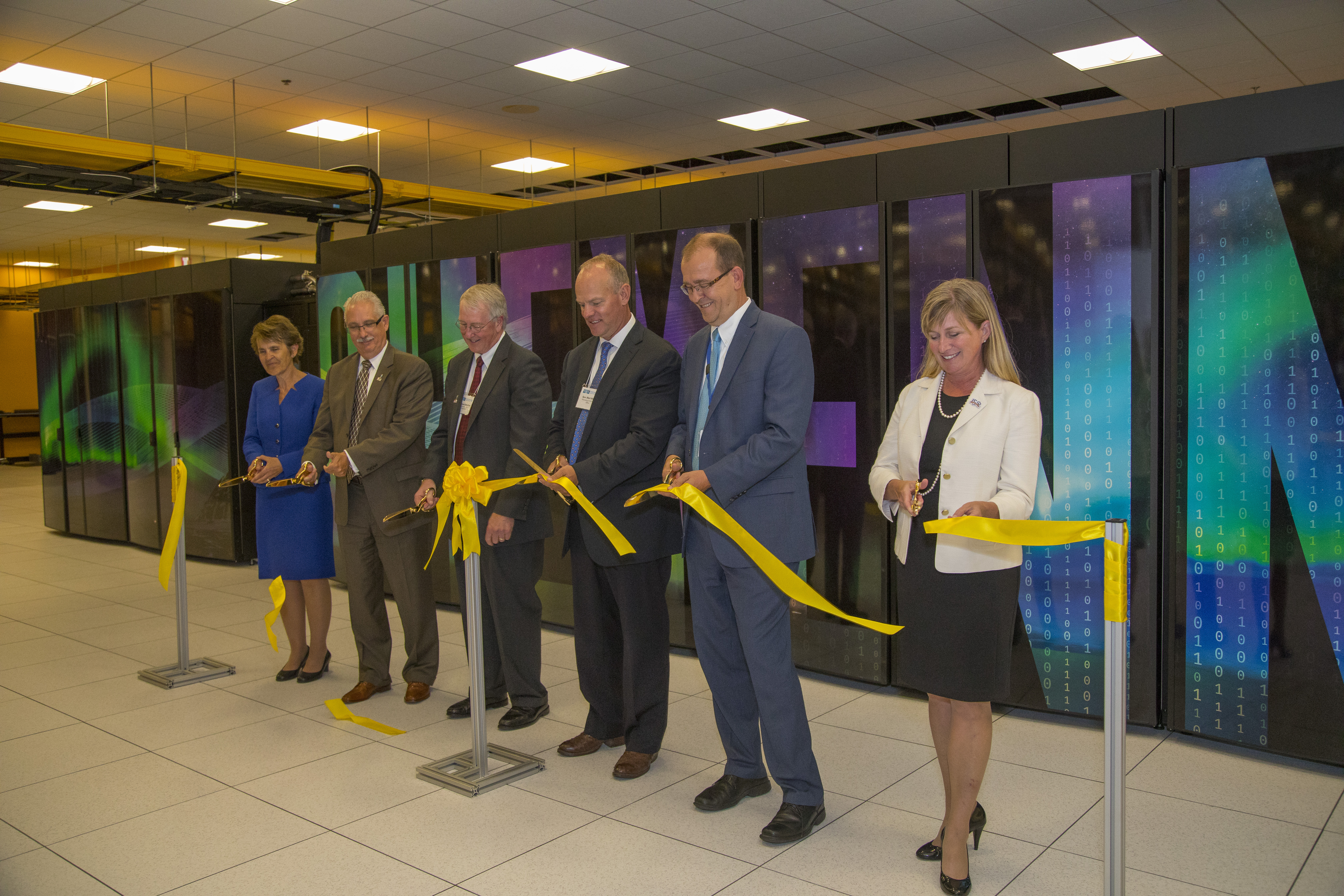 Ribbon Cutting Ceremony For Cheyenne Supercomputer Nwsc Opensky