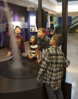 Tornado in the Weather Exhibit at the Mesa Lab