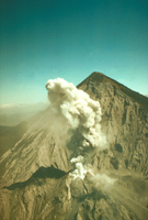 Volcano: Mt. Santiaguito, Guatemala (DI00362), Photo by Richard Cadle