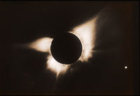 Eclipse in 1966, Bolivia (DI00447)