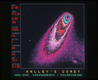 Halley's comet, Solar Maximum Mission (DI00474)