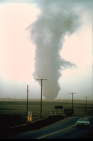 Tornado near Watkins, Eastern Colorado (DI00486)