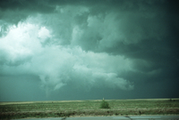 Weather conditions preceding the Limon Tornado, 6 June 1990, a time sequence (DI00526), Photo by Eugene McCaul