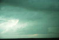 Weather conditions preceding the Limon Tornado, 6 June 1990, a time sequence (DI00530), Photo by Eugene McCaul