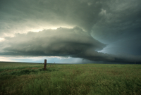 Supercell thunderstorm (DI00702)