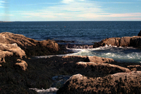 Ocean shore at Acadia National Park, Maine (DI00811), Photo by Vanessa Carney