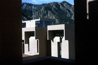 NCAR Mesa Laboratory: two towers architectural view (DI00907)