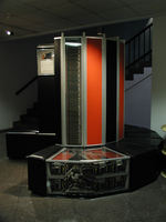 CRAY I historical exhibit (DI01009)