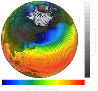 Earth's climate system (DI02467) Image courtesy Gary Strand