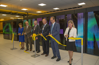 Ribbon cutting ceremony for Cheyenne supercomputer, NWSC