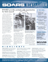 SOARS Newsletter Fall 2003