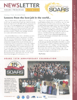 SOARS Newsletter Fall 2010