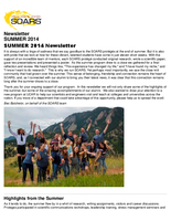 SOARS Newsletter Summer 2014
