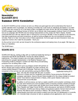 SOARS Newsletter Summer 2015