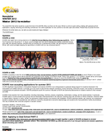 SOARS Newsletter Winter 2012