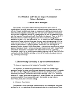 The weather and climate impact assessment science initiative