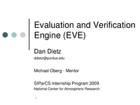 Evaluation and verification engine [presentation]