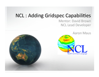 Adding GridSpec capabilities to NCL
