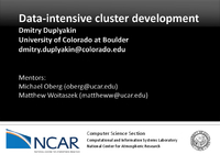 Data-intensive cluster development