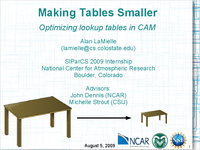 Making tables smaller: Optimizing lookup tables in CAM [presentation]